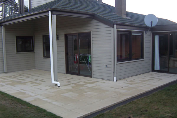 Commercial Siteworks - Residential housing, Christchurch.