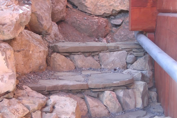 Residential stone masonry and rock work